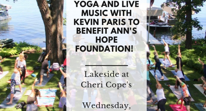 Yoga and Live Music with Kevin Paris to benefit Ann's Hope Foundation