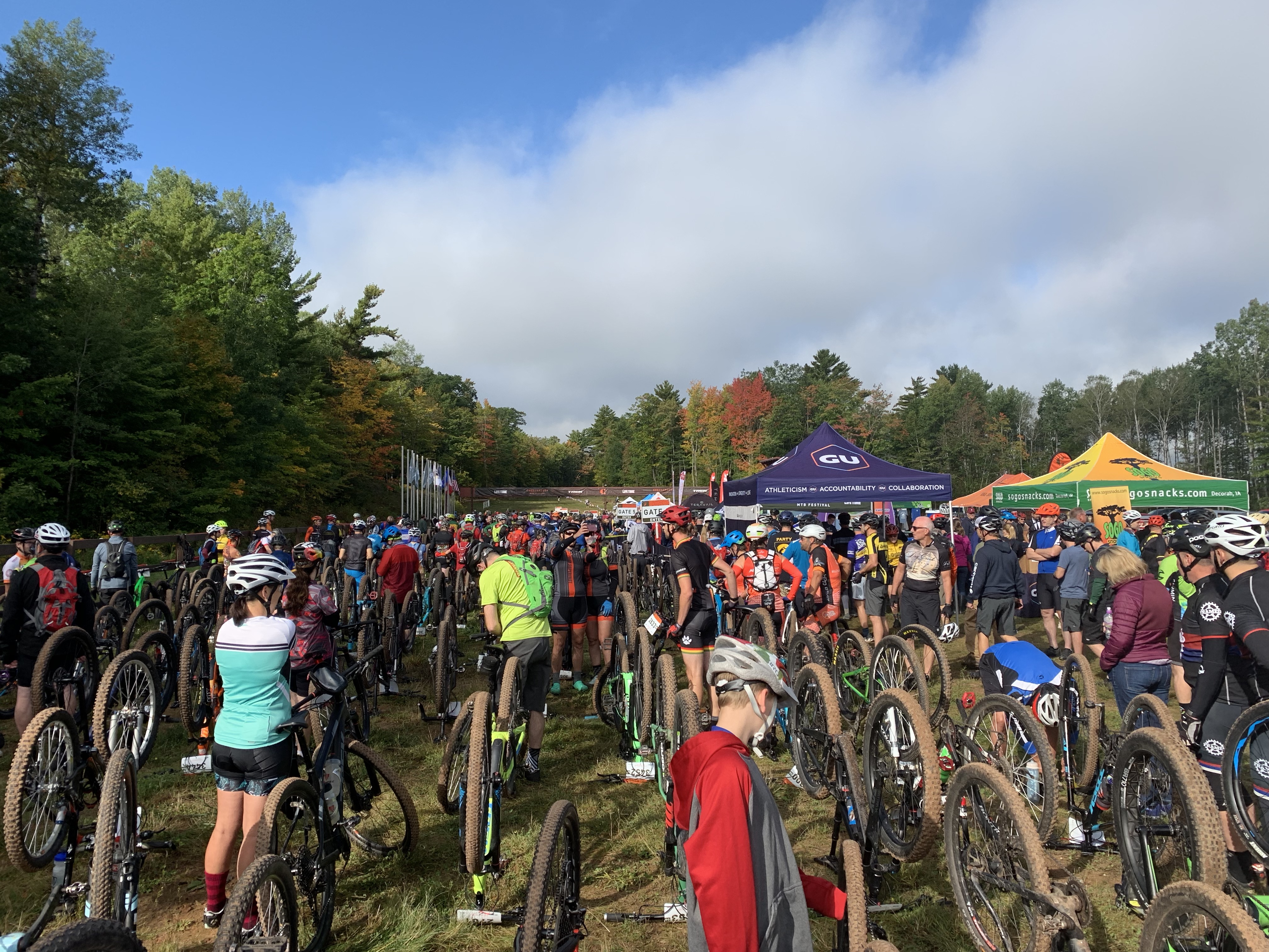 Getting Gritty and Pushing Comfort Zones: Chequamegon Mountain Bike Race