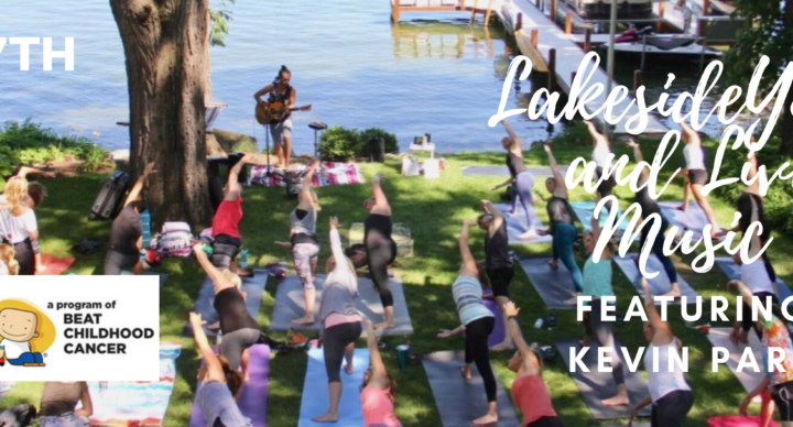 Lakeside Yoga & Live Music with Kevin Paris!